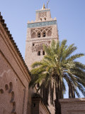 The Koutoubia Mosque, Djemaa El-Fna, Marrakesh, Morocco, North Africa, Africa Photographic Print by Gavin Hellier