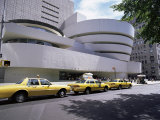 Guggenheim Museum on 5th Avenue, New York City, New York State, USA Fotografie-Druck von Walter Rawlings