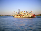 Mississippi River Paddle Steamer, New Orleans, Louisiana, USA Photographic Print by Gavin Hellier
