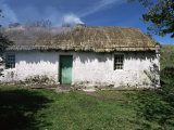 Traditional Thatched Cottage Near Glencolumbkille, County Donegal, Ulster, Eire Photographic Print by Gavin Hellier
