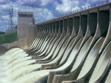 Rio Hondo Dam on Rio Dulce, Argentina, South America Photographic Print by Walter Rawlings