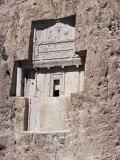 Tomb of Darius at Naqsh-E Rustam, Iran, Middle East Photographic Print by Sybil Sassoon