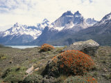 Torres Del Paine National Park, Patagonia, Chile, South America Photographic Print by Geoff Renner