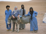 End of Desert Trek Photo, Cook, Chigaga, Morocco Photographic Print by Jenny Pate