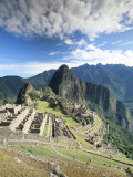 Inca Ruins in Morning Light, Machu Picchu, Unesco World Heritage Site, Urubamba Province, Peru Photographic Print by Gavin Hellier