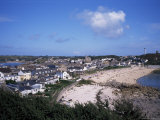 Hugh Town, St. Mary's, Isles of Scilly, United Kingdom Photographic Print by Geoff Renner