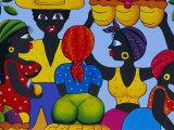 Cuban Painting, Havana, Cuba, West Indies, Central America Reproduction photographique par Gavin Hellier