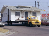 Pick-Up Truck Moving House, California, USA Photographic Print by Walter Rawlings