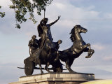 Statue of Boadicea, Westminster, London, England, United Kingdom Photographic Print by Walter Rawlings