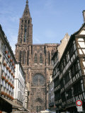 Gothic Christian Cathedral Dating from the 12th to 15th Centuries, Strasbourg, Alsace, France Photographic Print by Geoff Renner