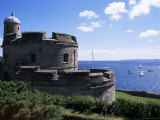 St. Mawes Castle, Built by Henry VIII, St. Mawes, Cornwall, England, United Kingdom Photographic Print by Jenny Pate