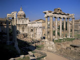 Roman Forum, Unesco World Heritage Site, Rome, Lazio, Italy Photographic Print by Gavin Hellier