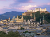 Kollegienkirche and Cathedral in Old Town, Salzburg, Austria Photographic Print by Gavin Hellier