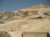 Tombs in the Valley of the Nobles, West Bank, Thebes, Luxor, Egypt, North Africa, Africa Photographic Print by Gavin Hellier