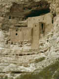 Pueblo Indian Montezuma Castle Dating from 1100-1400 AD, Sinagua, Arizona, USA Photographic Print by Walter Rawlings