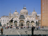 Basilica of San Marco (St. Mark's), St. Mark's Square, Venice, Veneto, Italy Photographic Print by Gavin Hellier