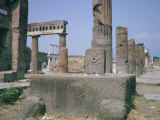 Forum, Pompeii, Campania, Italy Photographic Print by Walter Rawlings