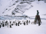 Point Wild, One of the Most Historic Locations in the Antarctic, Antarctica Photographic Print by Geoff Renner