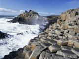 Giant's Causeway on the Causeway Coast,37,000 Hexagonal Basalt Columns, County Antrim Photographic Print by Gavin Hellier