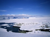 Looking East to West Coast of Antarctic Peninsula, Antarctica, Polar Regions Photographic Print by Geoff Renner