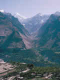 Hunza Valley, Karakorums, Pakistan Photographic Print by Sybil Sassoon