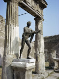 Temple of Apollo, Pompeii, Unesco World Heritage Site, Campania, Italy Photographic Print by Walter Rawlings