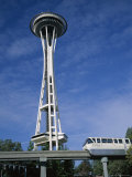 The Space Needle, Seattle, Washington State, USA Photographic Print by Geoff Renner