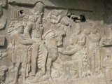 Sassanian Reliefs, Bishapur, Iran, Middle East Photographic Print by Sybil Sassoon