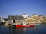 Peggy's Cove, Halifax, Nova Scotia, Canada Photographic Print by Geoff Renner