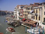 The Grand Canal from the Rialto Bridge, Venice, Veneto, Italy Photographic Print by Gavin Hellier