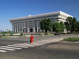 Parliament Building, Bishkek, Kirghizstan, Central Asia Photographic Print by Gavin Hellier