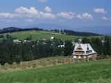 Landscape Near Zakopane, Tatra Mountains, Poland Photographic Print by Gavin Hellier