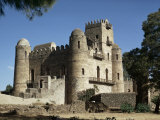 King Fasiuda's Castle, Gondar, Ethiopia, Africa Photographic Print by Sybil Sassoon