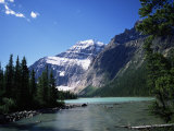 Mount Edith Cavell, Jasper National Park, Rocky Mountains, Alberta, Canada Photographic Print by Geoff Renner