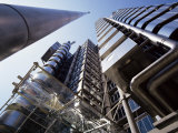 Lloyds Building, Architect Richard Rogers, City of London, London, England, United Kingdom Photographic Print by Walter Rawlings