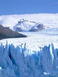 Perito Moreno Glacier and Andes Mountains, Parque Nacional Los Glaciares, El Calafate, Argentina Photographic Print by Gavin Hellier