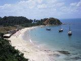 Baia (Bay) De Todos Os Santos, Near Salvador, Ilha (Island)_ Dos Frades, Bahia State, Brazil Photographic Print by Geoff Renner