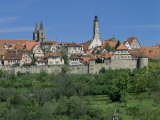 Rothenburg Ob Der Tauber, 'The Romantic Road', Bavaria, Germany Photographic Print by Gavin Hellier