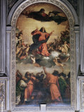 The Assumption by Titian, S. Maria Dei Frari, Venice, Veneto, Italy Photographic Print by Walter Rawlings