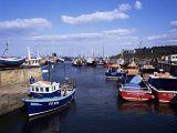 Harbour, Seahouses, Northumberland, England, United Kingdom Photographic Print by Geoff Renner