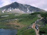 Mount Asahidake, 2290M, Daisetsuzan National Park, Island of Hokkaido, Japan Photographic Print by Gavin Hellier