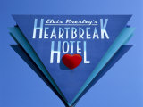 Elvis Presley's Heartbreak Hotel Sign, Memphis, Tennessee, USA Photographic Print by Gavin Hellier