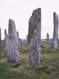 Callanish Standing Stones, Isles of Lewis, Western Isles, Outer Hebrides, Scotland Photographic Print by Geoff Renner