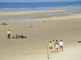 Hardelot Plage (Beach), Near Boulogne, Pas-De-Calais, France Photographic Print by David Hughes
