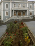 Town Hall, Sao Filipe, Fogo, Cape Verde Islands, Africa Photographic Print by G Richardson