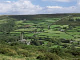 Widecombe-In-The-Moor, Dartmoor, Devon, England, United Kingdom Photographic Print by Lee Frost