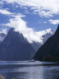 Milford Sound, Otago, South Island, New Zealand Photographic Print by G Richardson