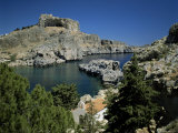Lindos, Island of Rhodes, Dodecanese, Greek Islands, Greece Photographic Print by G Richardson