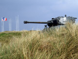 American Tank, Utah Beach, Site of D-Day Landings in the Second World War, Manche Photographic Print by David Hughes