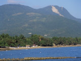 Playa Dorada and Mount Isabel Del Torres, Puerto Plata, Dominican Republic, West Indies Photographic Print by G Richardson